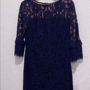 Ralph Lauren blue lace dress